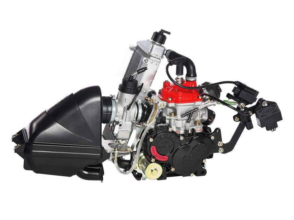 Rotax 125 Max Evo - 125CC Water cooled
