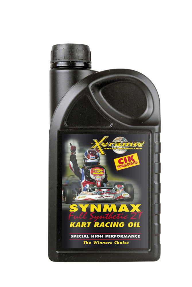 Xeramic SynMax Full Synthetic 2T Kart Racing Oil