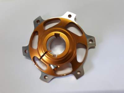 30mm Brake Disk Hub with 6mm and 8mm key way