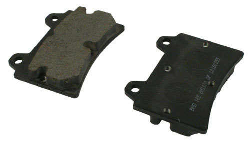 Brake Pads 11mm Hard Self Adjusting X3, M3, DD2, 125 GP6, Pre AX8, Pkt 1