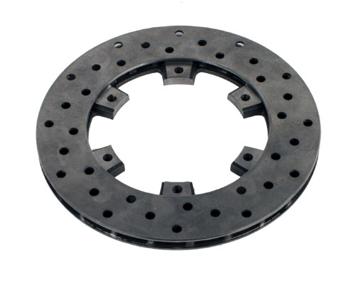 Brake Disc, Radially Vented - 100mm I.D x 205mm O.D - Arrow AX6