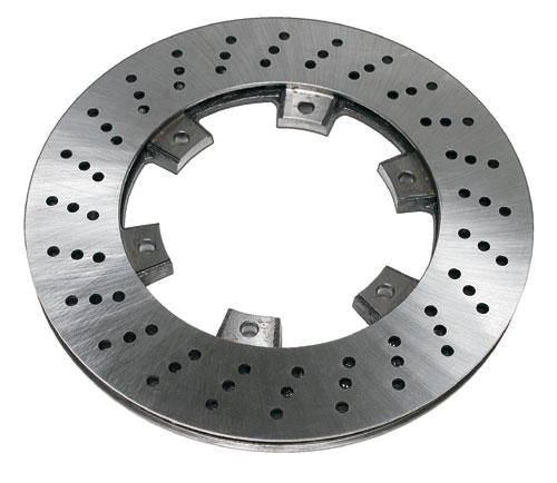 Brake Disc, Radially Vented - 100mm I.D x 210mm O.D x 12.5mm Wid