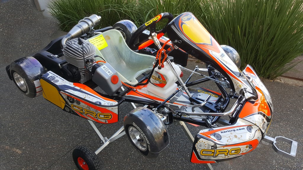 CRG Hero Cadet 12 Package ages 9- 12 years ( Ready to race) - Click Image to Close