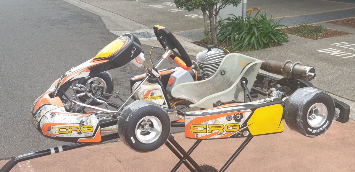 CRG HERO CADET KART WITH MINI ROK ENGINE