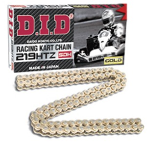 GOLD/GOLD DID CHAIN 219 G&G SDH,110 LINKS