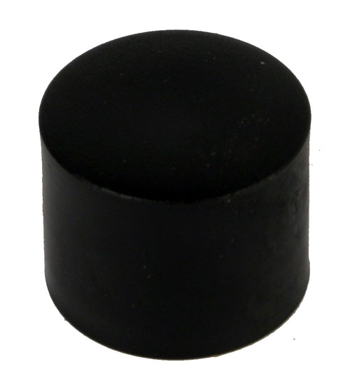 Engine Mount Adjuster Bolt Insulator Cap, Nylon, Black