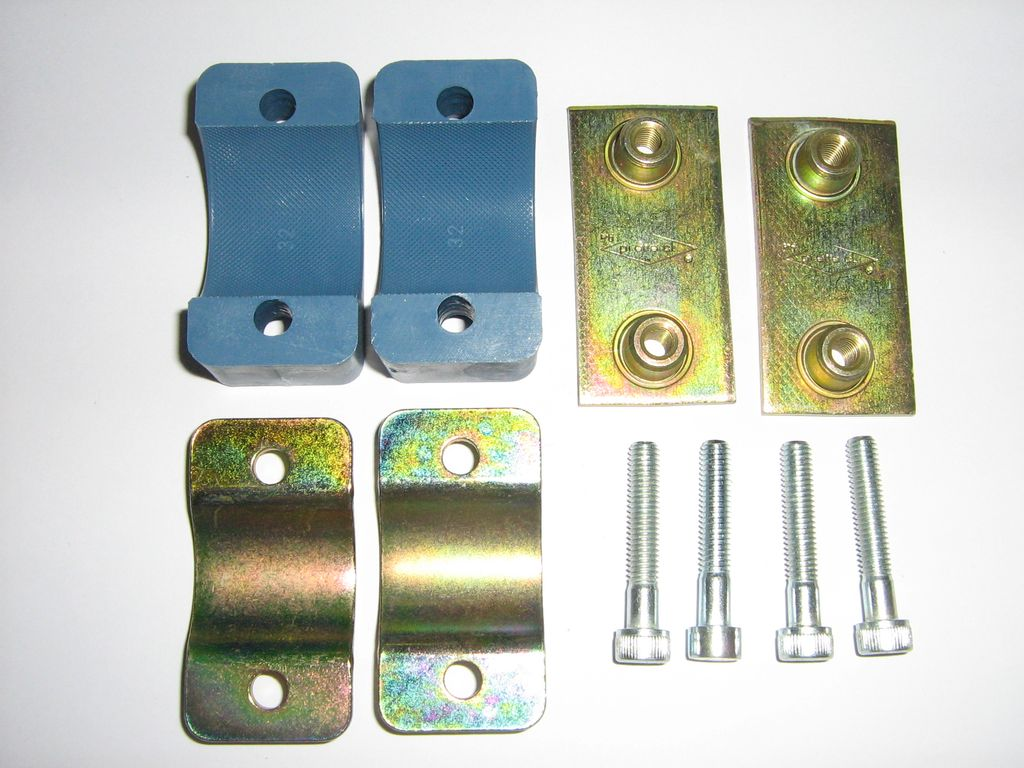 BATTERY CRADLE CLAMP KIT -SUITS 28/30/32mm CHASSIS
