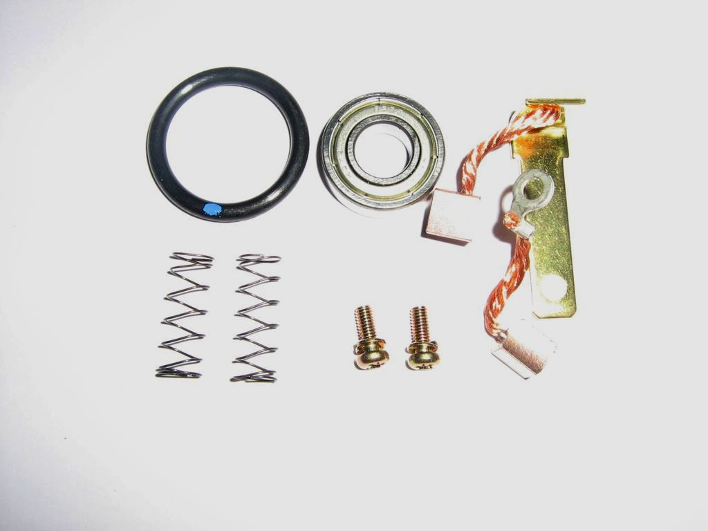 Repair kit - starter motor, inc. brushes, spring & bearing