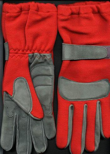 Kart Glove - 8 Size, Red