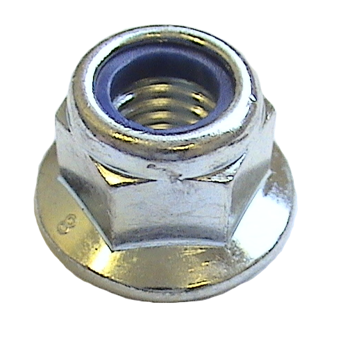 Nyloc SELF-LOCKING NUT FLANGED M6 (6mm)