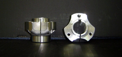 30mm Short Rear Hub (50mm in length). Made standard with 6mm keyway