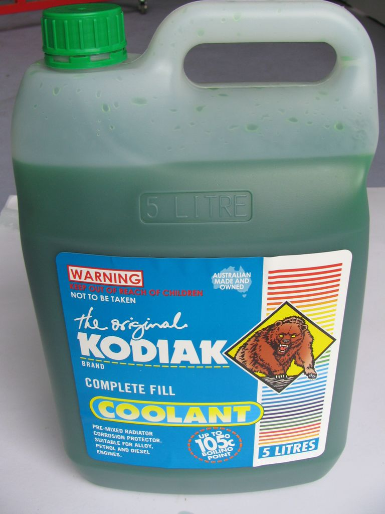 Coolant - ready mixed, Glycol free