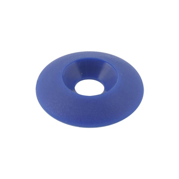 Nylon COUNTERSUNK WASHER 30 x 8mm BLUE COLOUR