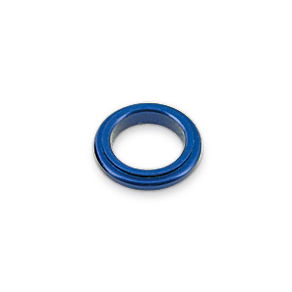 ALUMINIUM SPINDLE SPACER 17x5mm, BLUE ANODIZED