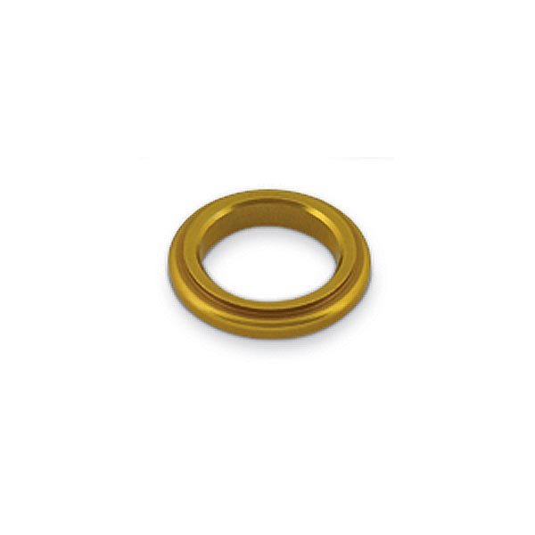ALUMINIUM SPINDLE SPACER 17x5mm, GOLD BILLET ANODIZED