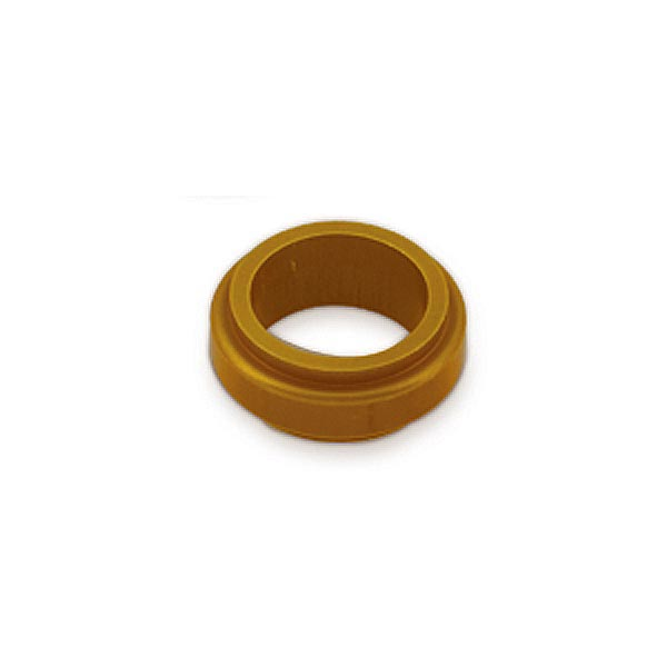 ALUMINIUM SPINDLE SPACER 17x10mm, GOLD BILLET ANODIZED