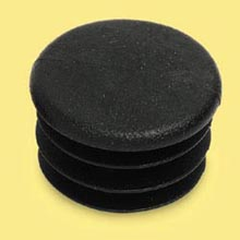 CHASSIS PLUG - 28MM - BLACK