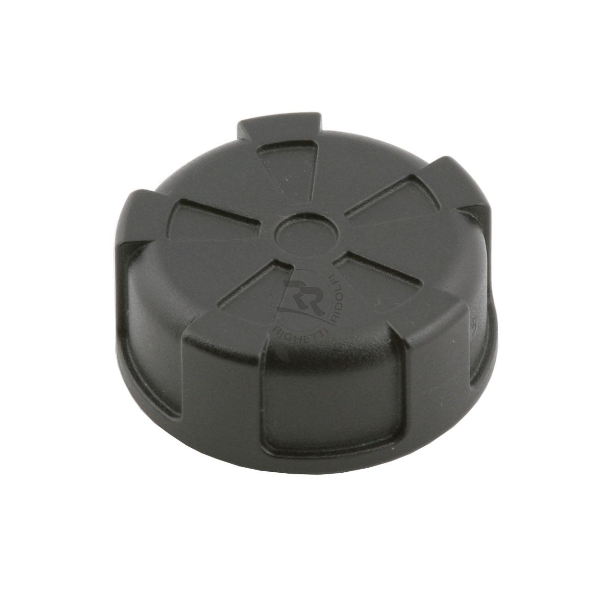 CAP FOR PETROL TANK WITH VALVE, BLACK COLOUR