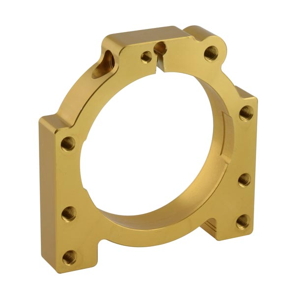 ADJUSTABLE ALUMINIUM HOUSING 50MM GOLD I.D 90MM