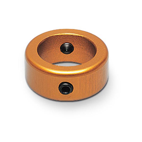 LOCKING RING GOLD ANODIZED FOR STEERING COLUMN D. 19MM
