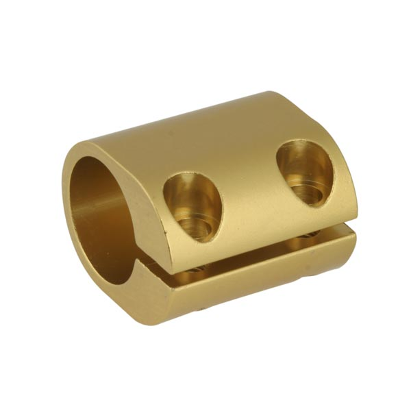 CLAMP FOR 32mm TORTION BAR GOLD ANODIZED