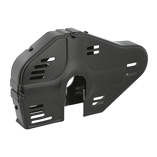 INTEGRAL CHAIN GUARD FOR 100cc, BLACK COLOUR