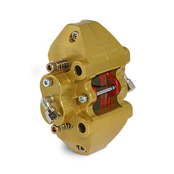 BRAKE CALIPER - TRIPMATIC, 4 PISTONS, GOLD ANODIZED