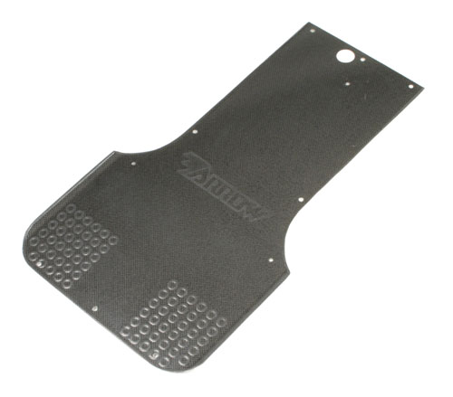 Floor Tray AX9 125 Shifter Carbon Fibre Look
