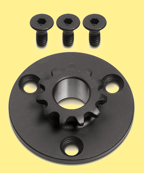 SPROCKET (WITH SCREWS) 11T