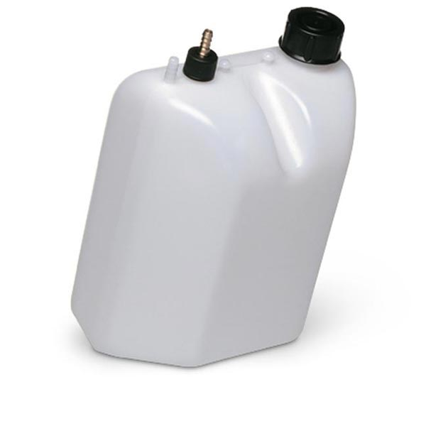 PETROL TANK 5 LITRES WITH BLACK CAP WITH SUCTION UNIT, SCREW FI