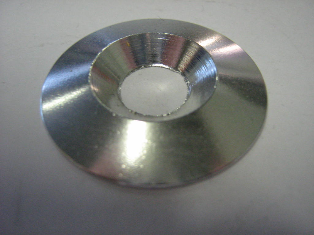 WASHER 6x12mm ALUMINIUM ZINC-PLATED