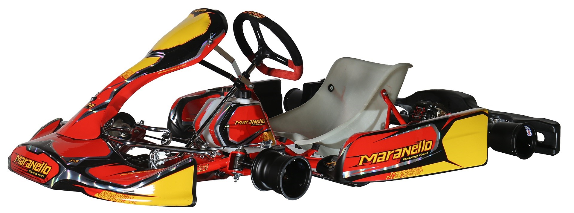 Maranello with Rotax Max 125cc Water cooled engine
