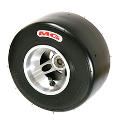 Tyre MG HZ - White/Red Front