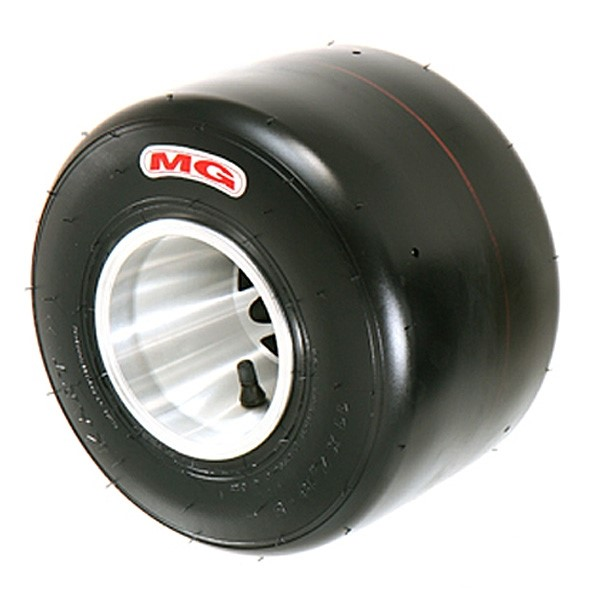 Tyre MG HZ - White/Red Rear