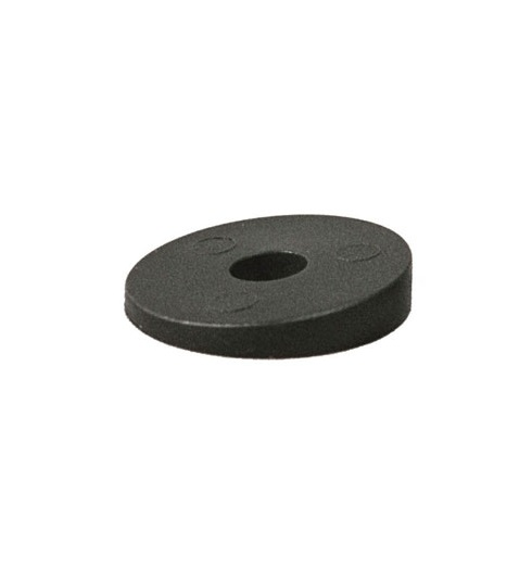 NYLON WASHER E.D. 8 I.D. 8 h. 30 BLACK COLOUR