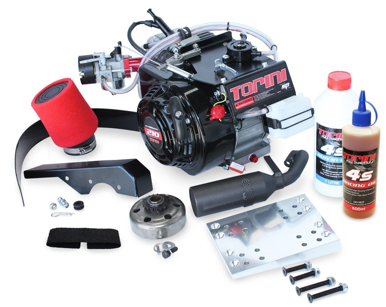 Torini Clubmaxx Complete Engine Kit Including Accessory Kit
