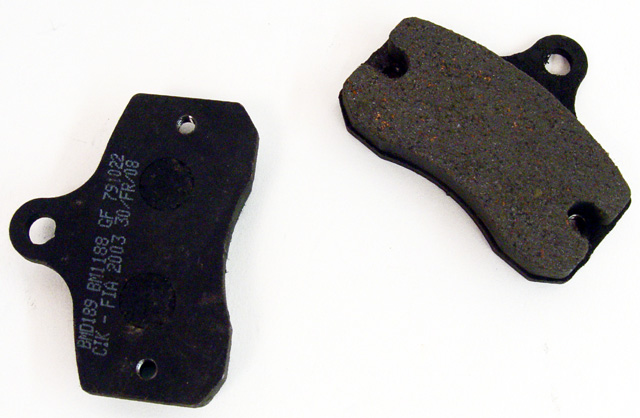 Brake Pads 10mm X2/GP8 onwards, X3 MRC, DD2, 125 Front Brake Pads (1 Pair)