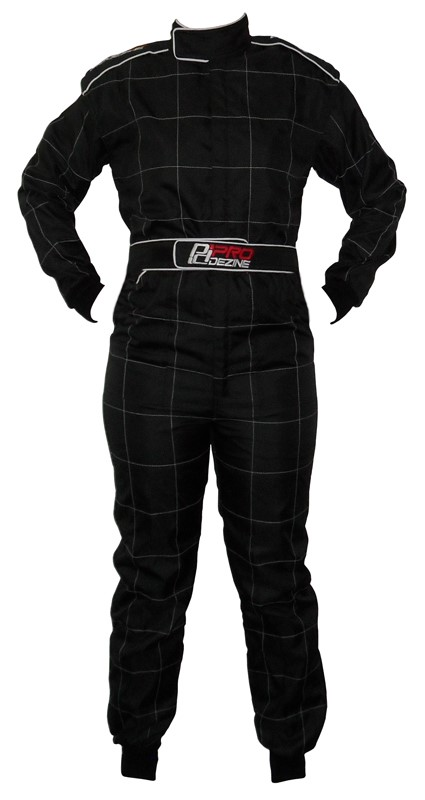 ProDezine Race Suit - Black XXL - Click Image to Close
