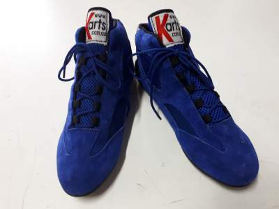 Blue Ankle Height Race Boots size - 41
