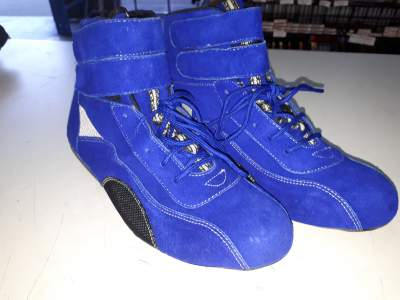 Blue Mid Height Race Boot - 41