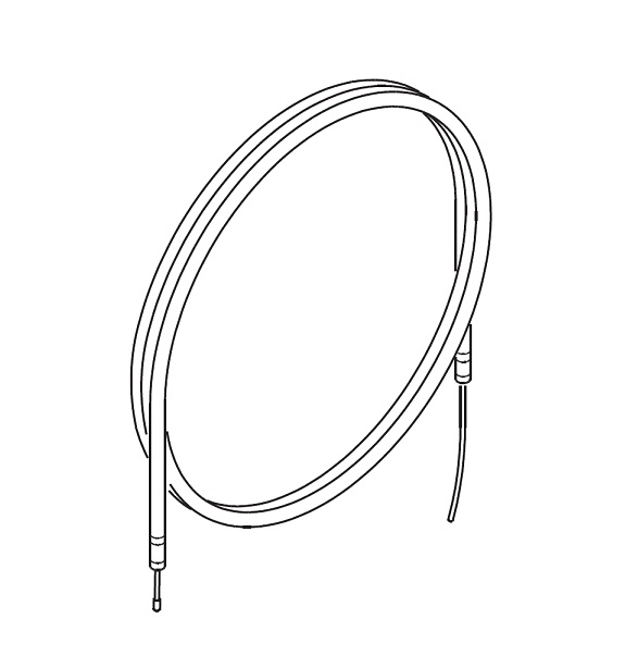 THROTTLE CABLE-GENUINE ROTAX