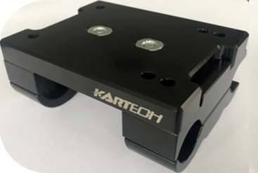 Kartech Engine Mount Slide Type Complete With Bottom Top Clamps & Bolts