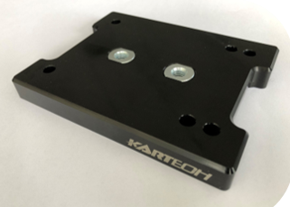 Kartech Engine Mount Top Slide Plate Flat