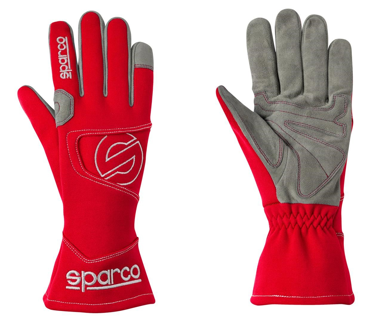 Kart Gloves Sparco Hurricane K-3 - Red - Size 9