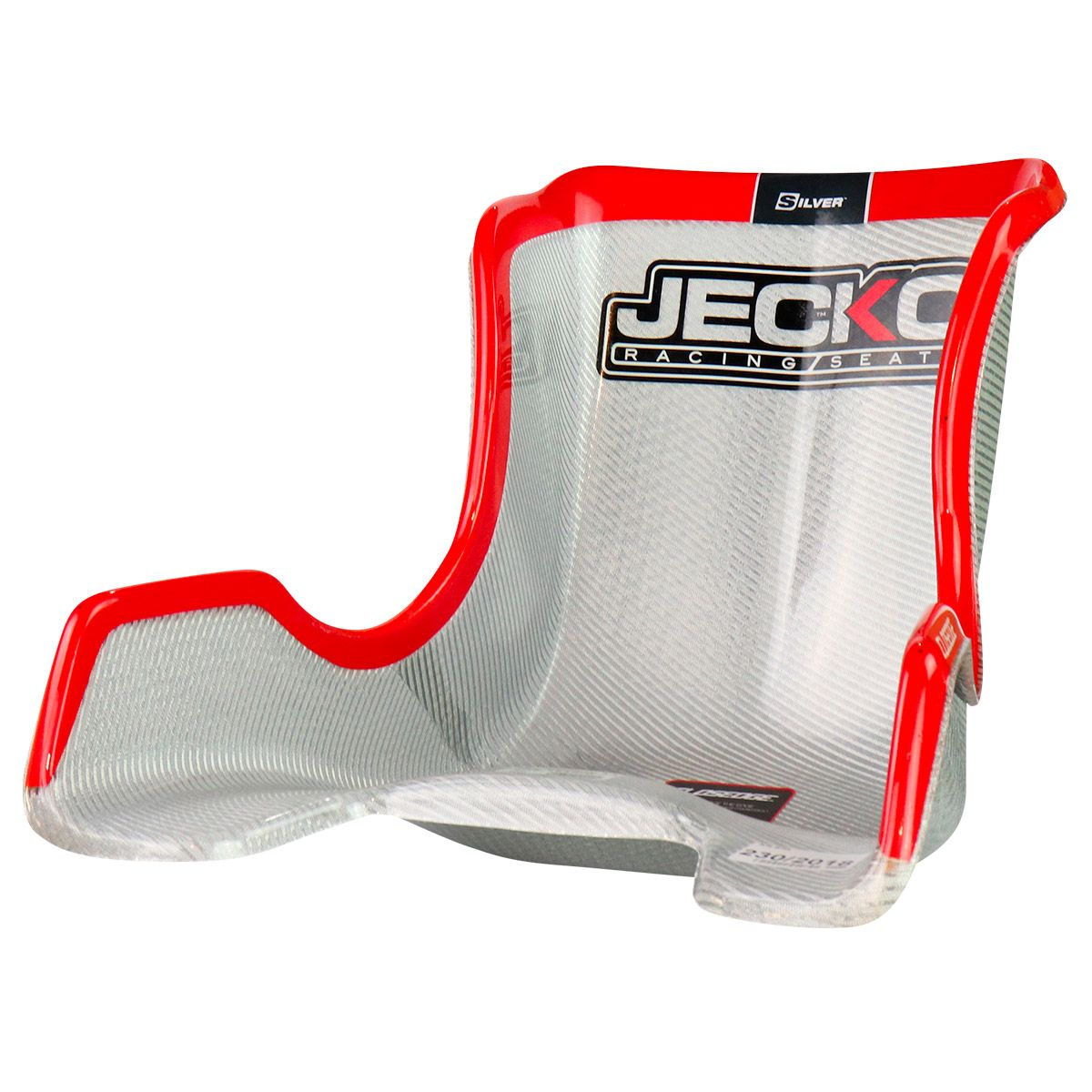 Jecko Seat D7 Silver Closedge 355mm
