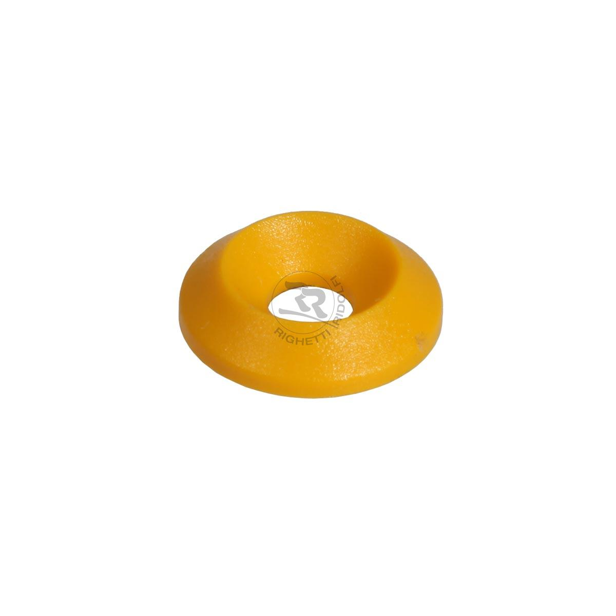 COUNTERSUNK WASHER 17 x 6mm YELLOW COLOUR