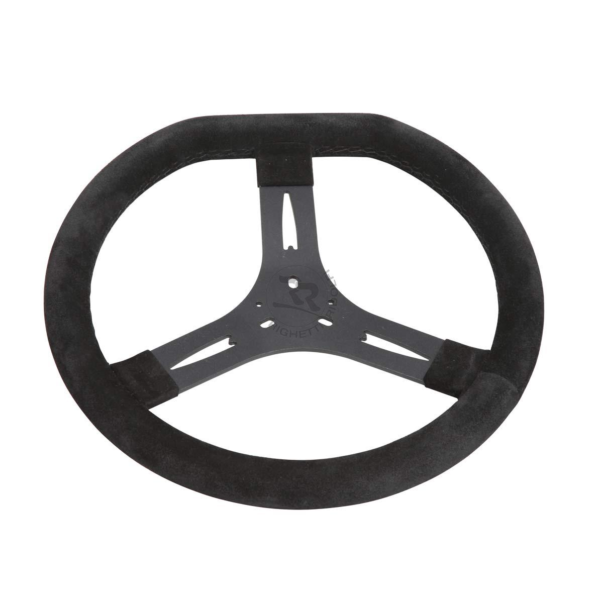 Steering Wheel - 340mm - Black Flat Top