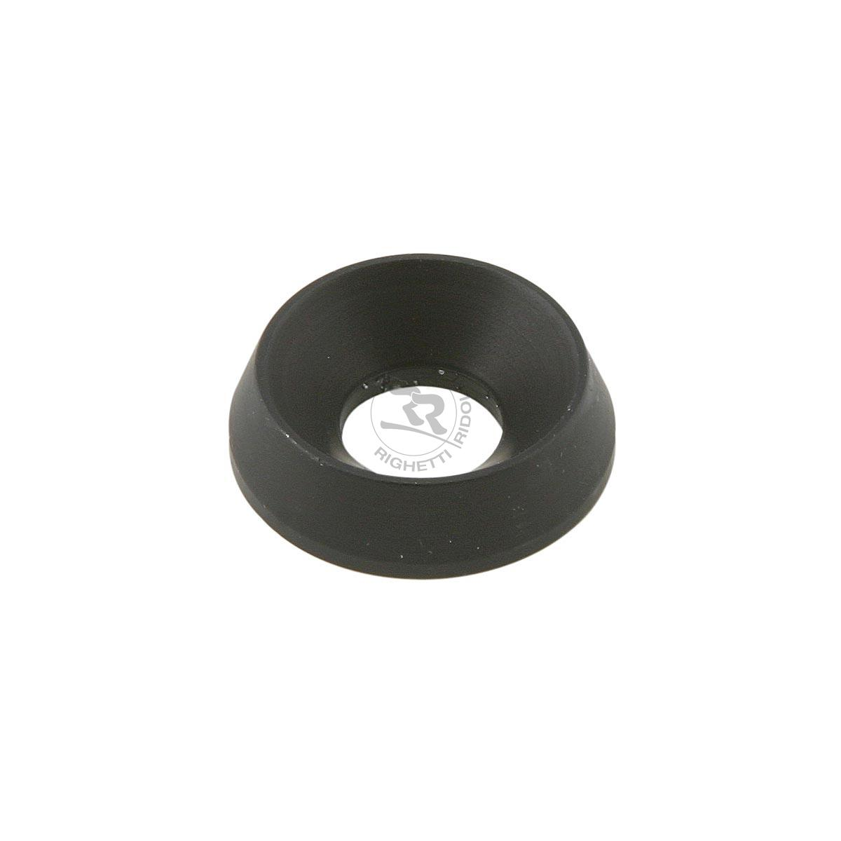 ALUMINIUM COUNTERSUNK WASHER 19 x 8mm, BLACK ANODIZED