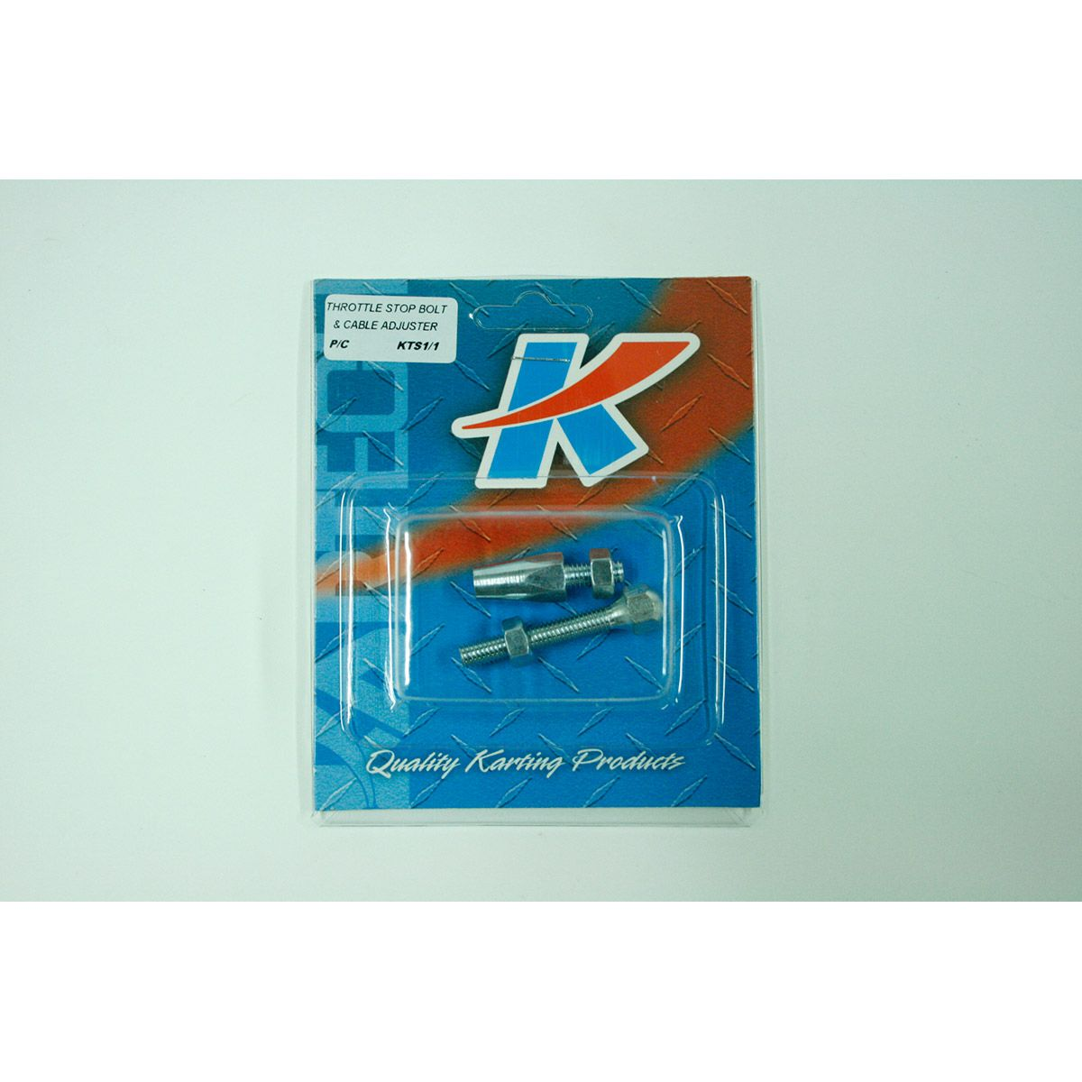 Kartech Throttle Stop Bolt & Cable Adjuster Pkt 1