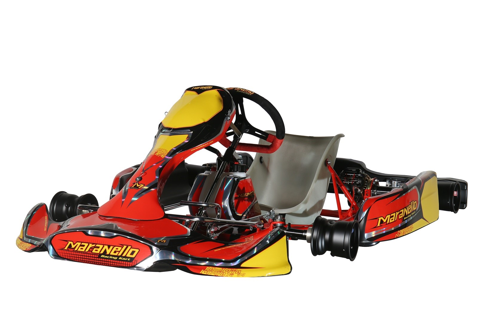 Maranello MK3 30mm Chassis with Rotax Max EVO 125cc engine